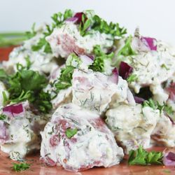 dill potato salad | Potato salad recipes | Pinterest