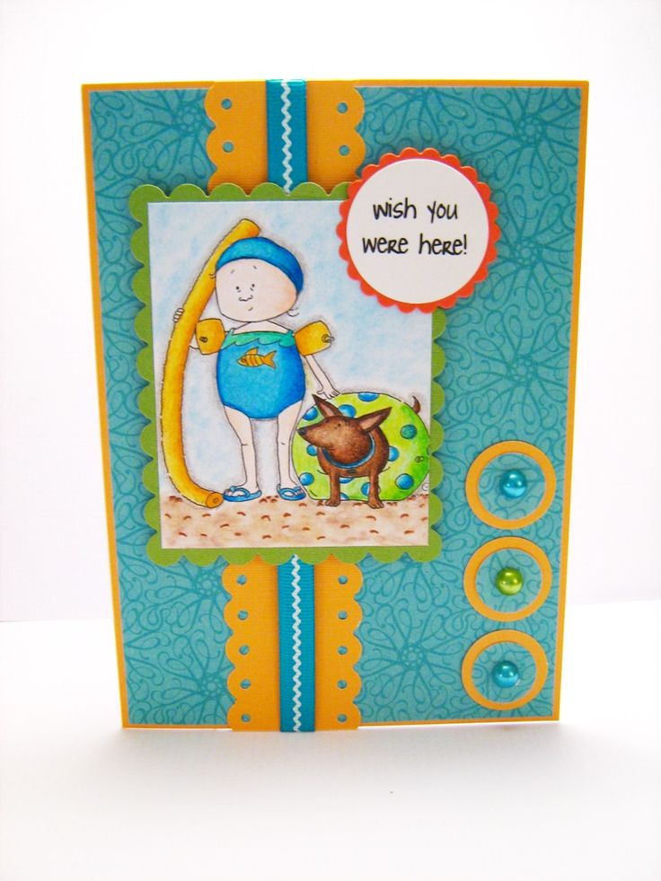 Card made using the layout