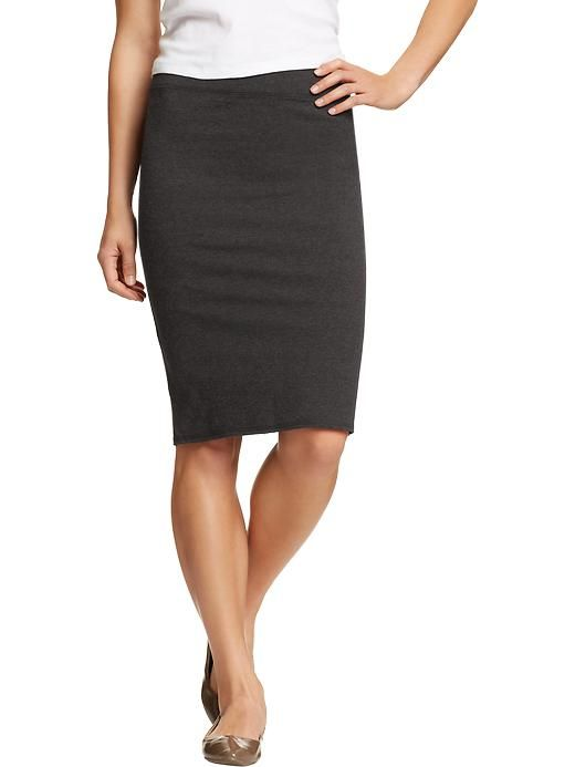 navy s jersey pencil skirts fall 2013