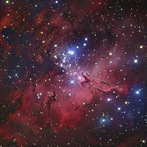 m16 eagle nebula face - photo #10