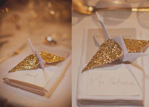 Decoracion Origami Matrimonio ~ Decoracion De Boda Con Origami Detalles Y  Noticias de los Mundos