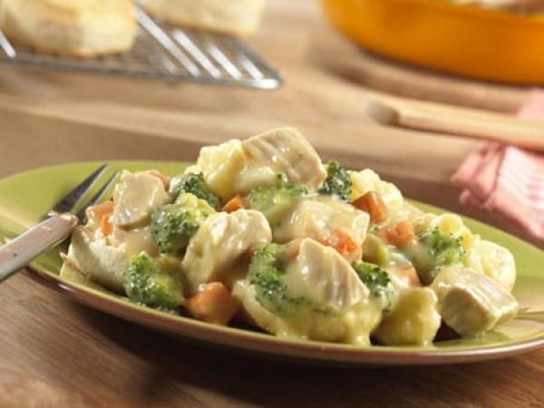 Step Inside-Out Chicken Pot Pie | http://aol.it/1oIDvcc