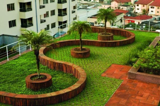 ... Kliass' rooftop garden - São Paulo, Brazil Gardens  Garden Design