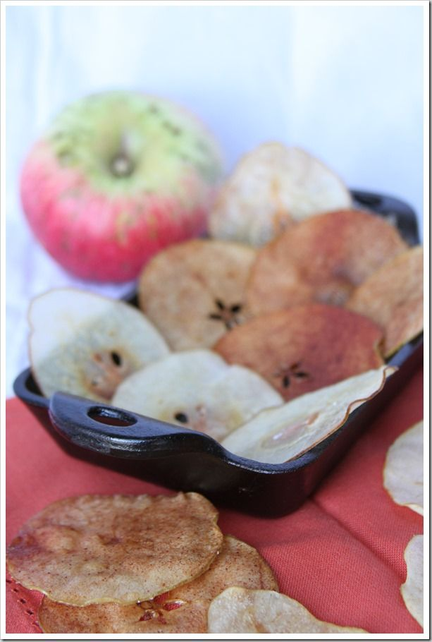 Pear and Apple Chips | Fruit | Pinterest