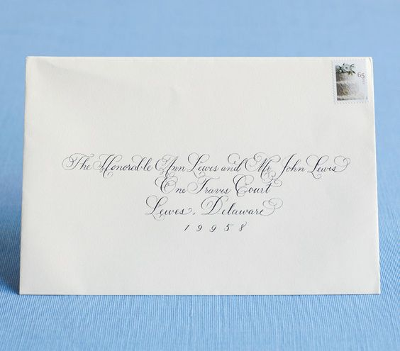 how to address wedding invitations With etiquette addressing wedding invitations judge