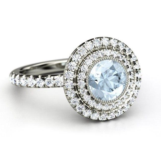 double halo engagementring i gemvara com com i http - Cinderella Wedding Ring