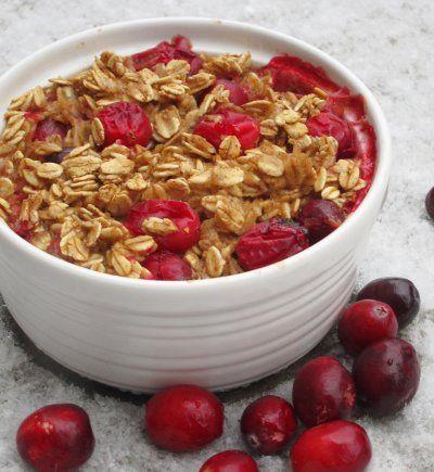 Cranberry Baked Oatmeal | Breakfast of (Vegan) Champions | Pinterest