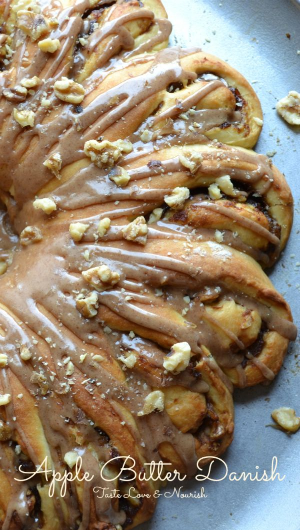 Apple Butter Danish