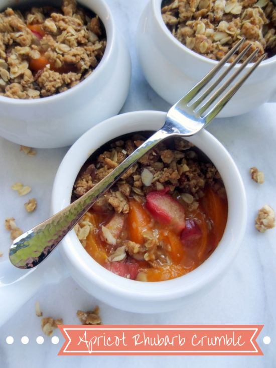 Apple Rhubarb Conserve With Almonds And Apricots Recipes — Dishmaps