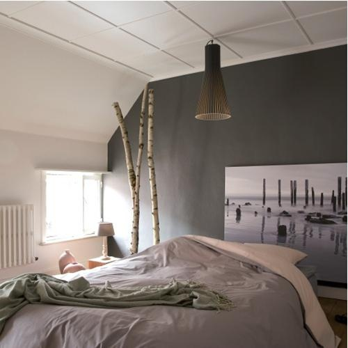 boss paints...grijs en oudroze  Huis: Slaapkamer  Pinterest