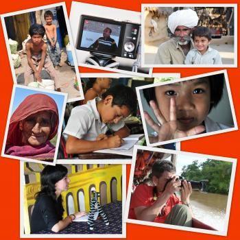 Collage de imáges de los proyectos sobre educación, cultura y sociedad