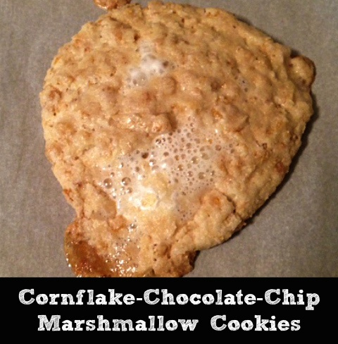 Cornflake-Chocolate-Chip Marshmallow Cookies | Butter and Sprinkles