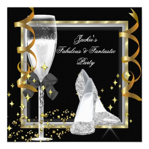 African American Party Invitations with perfect invitations design