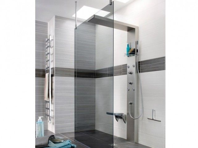 douche italienne  Shower  Pinterest