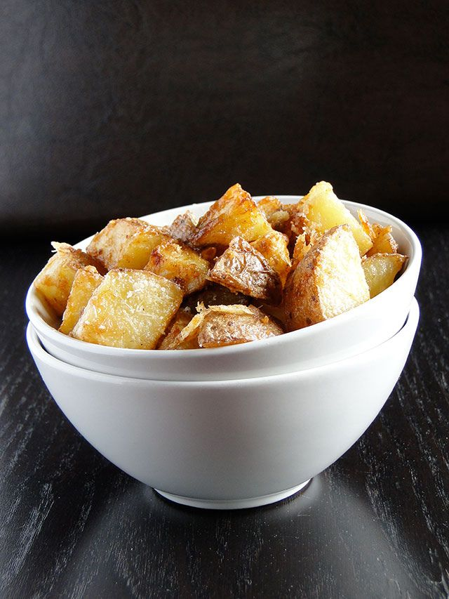 Parmesan roasted potatoes | Side Dishes | Pinterest