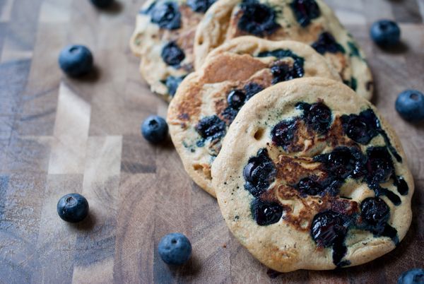 lemon blueberry whole wheat pancakes | Expanding Horizons for a Picky ...