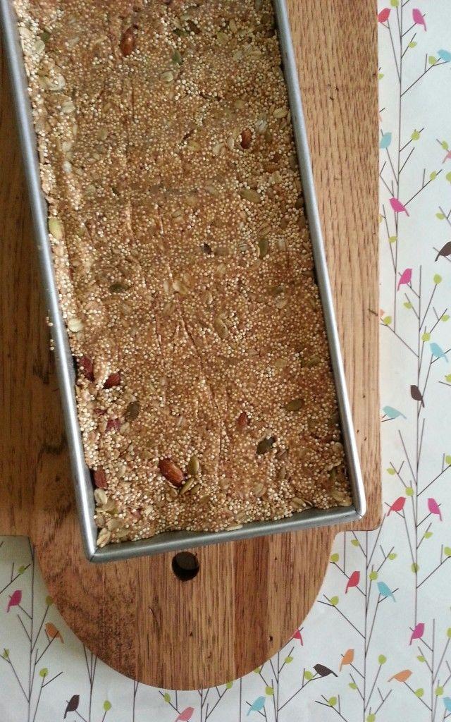 Quinoa-Almond Oatmeal Breakfast Bars | Pinterest Food Inspirations ...