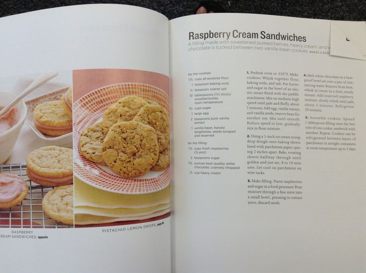 raspberry cream sandwiches cookie recip | Cookies | Pinterest