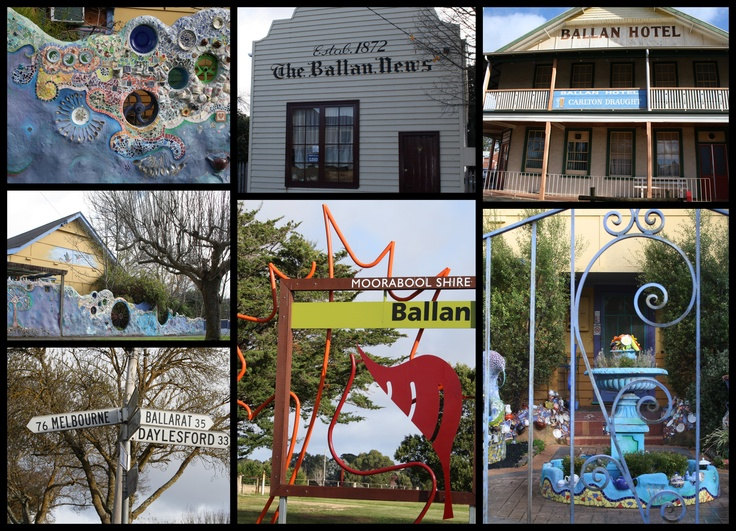 ballan a small country town in victoria australia 2011