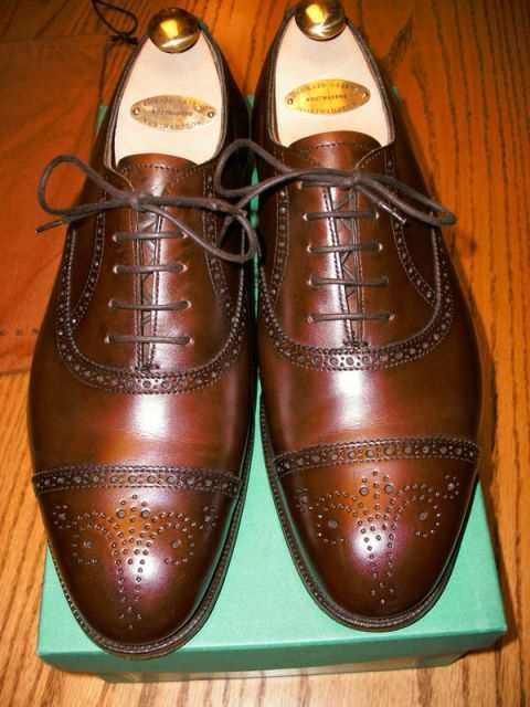 Edward Green Brogues www.theshoesnobblog.com