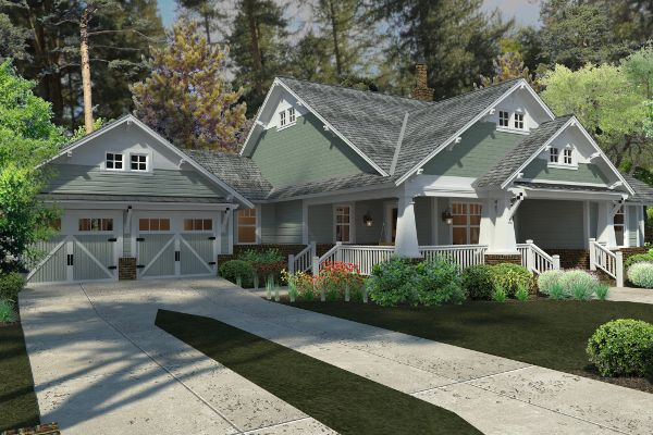 Featured House Plan Bhg 5517 If I Had A Million