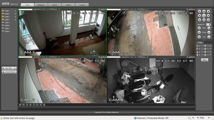 cách Lắp đặt camera quan sát gia đình thiết kế liền kề như thế nào