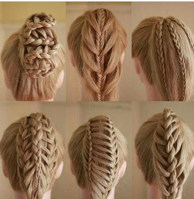 different braid types step by step with pictures