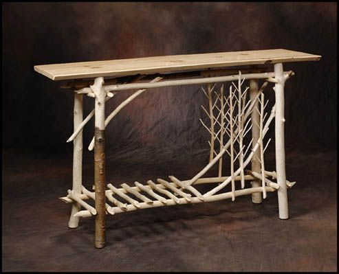 Entry And Sofa Tree Branch Furniture Pinterest