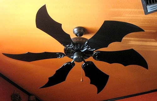 This Batman Ceiling Fan Turns Your Home Into A Batcave