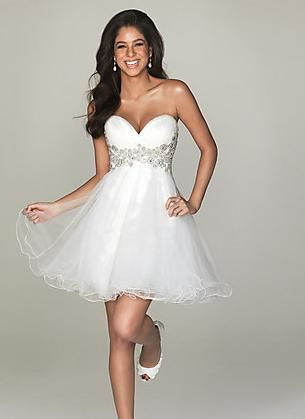 Short prom dresses adopted from