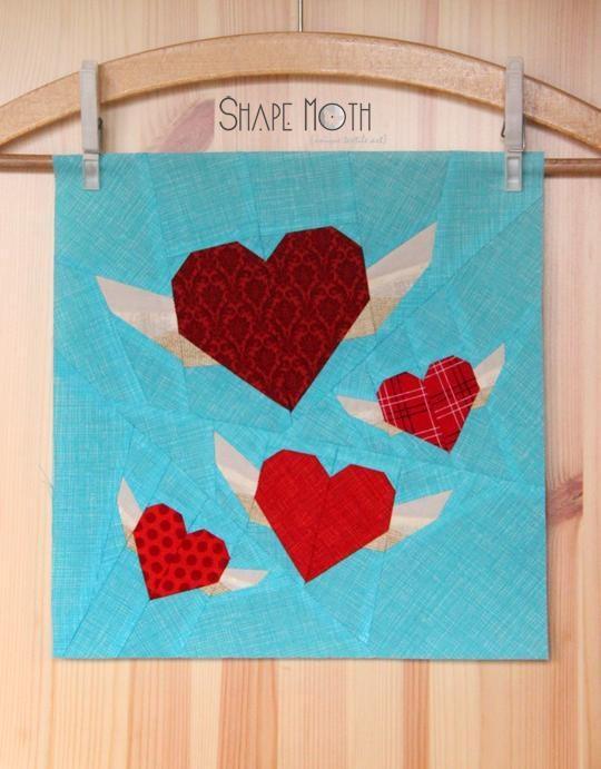 valentine heart quilt