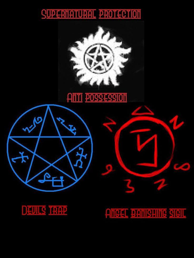 Protection Symbols Supernatural Giftsforsubs