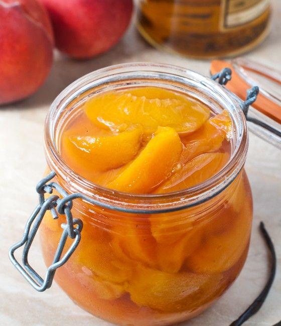 Bourbon Poached Peaches | Delicious treats: Pies, Cakes, Frozen, etc ...
