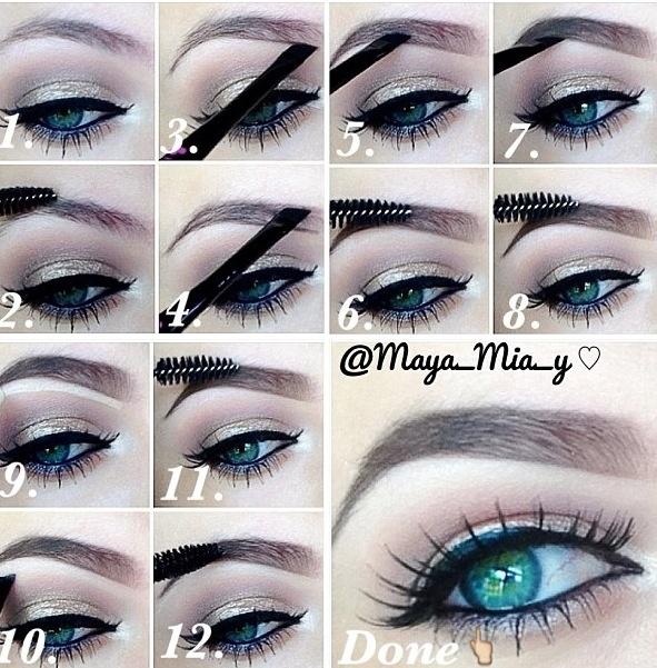 Pictures Of How To Draw An Eyebrow Kidskunstfo