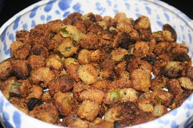 Mammaws Fried Okra (or in my case, Granny Mary's fried okra, this is ...
