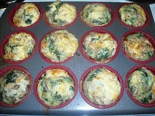 Cheesy egg muffins - diet friendly | medifast | Pinterest