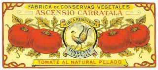 VintageFeedsacks: Free Vintage Clip Art - Vintage Spanish Tomato Label