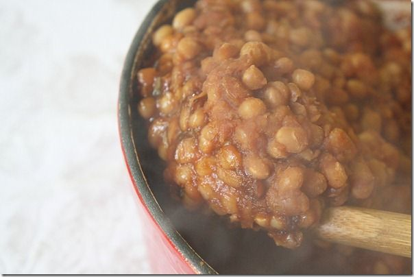 Spicy-Maple-Baked-Beans; homemade worcestershire sauce