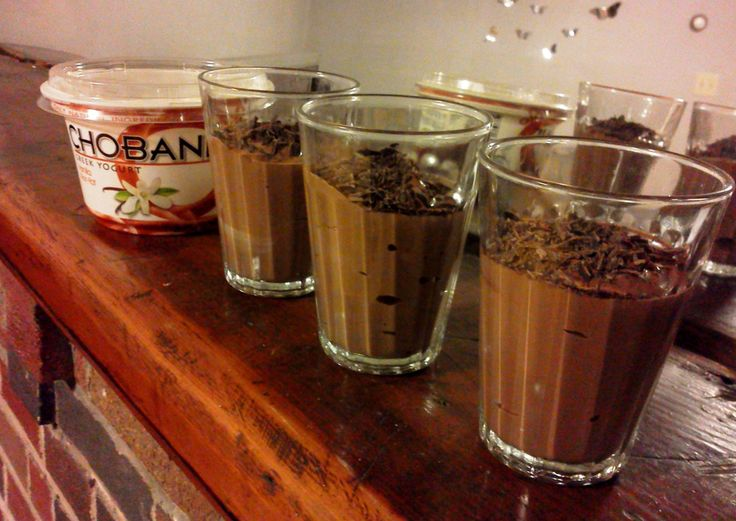 Greek Yogurt Chocolate Mousse Recipe — Dishmaps