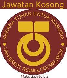 Jawatan kosong universiti teknologi malaysia utm