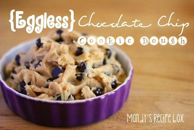 Mandy's Recipe Box: {Eggless} Chocolate Chip Cookie Dough - I used ...