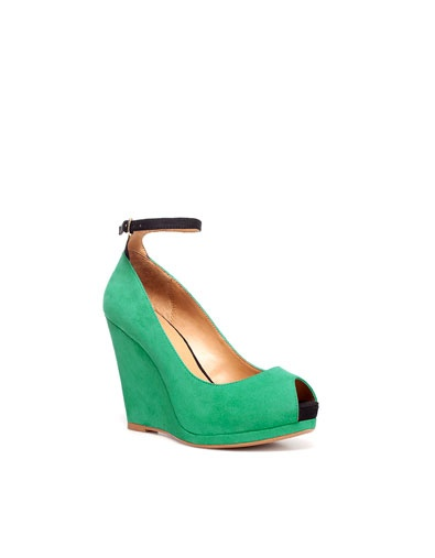LINED WEDGE - Shoes - Woman - ZARA