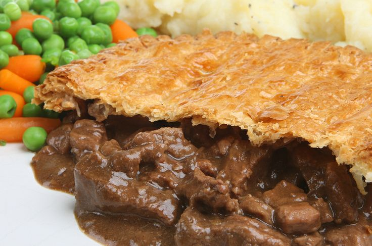 Steak and Ale Pie With Puff Pastry Lid   Food   Pinterest