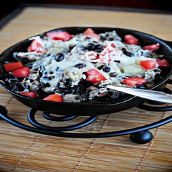 Protein Packed Egg And Black Bean Breakfast Scramble - I will make it ...