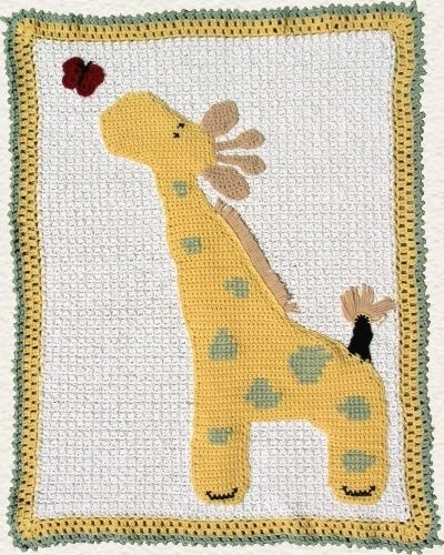 Crochet Pattern Giraffe Blanket : Cute giraffe blanket - pattern USD4.50 Care Package ...