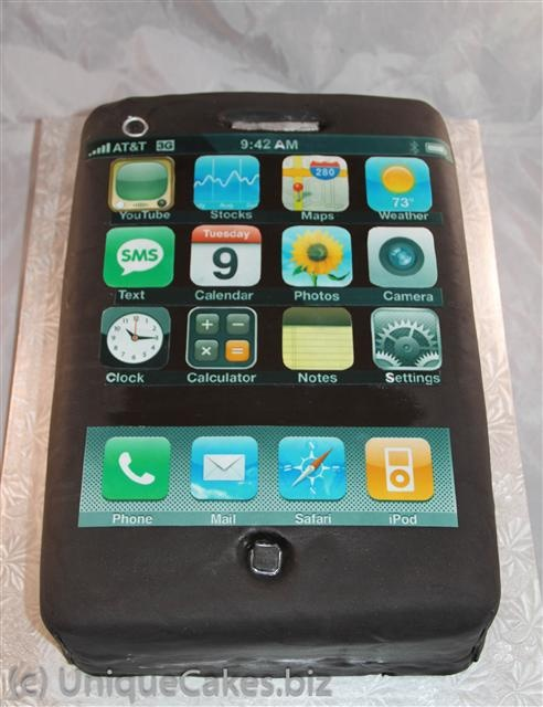Chocolate Cake Cell Phone