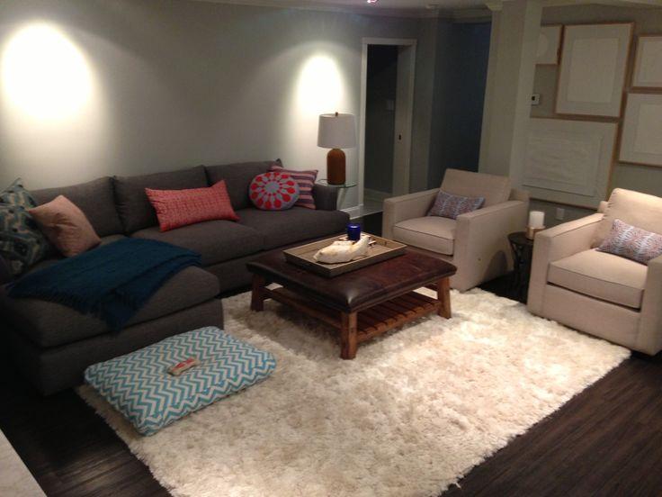 basement media room  Home  Pinterest