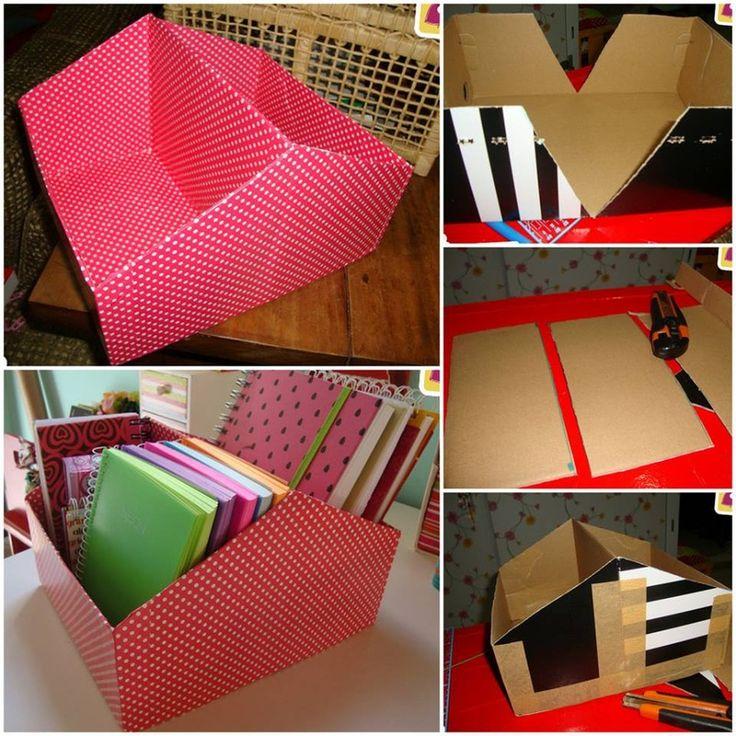 DIY - zrób to sam ♥: DIY - zrób to sam. Przechowywanie - pomysły ...