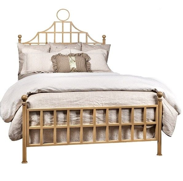 Chinese Chippendale Bed : Chinoiserie Chinese Chippendale Pagoda Bed Gold Low