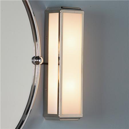 bath lights with round mirror metropolitan bar bath light 2 light